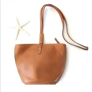 Handcrafted leather bag by Unisa